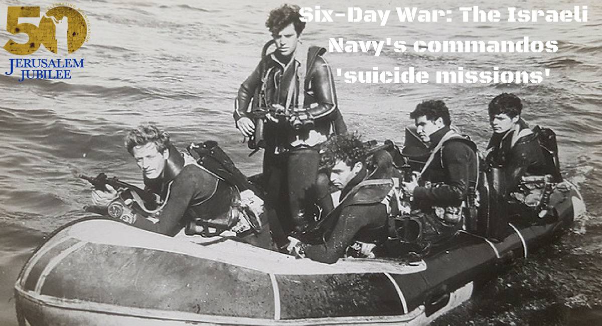 Six Day War The Israeli Navys Commandos Suicide Missions1