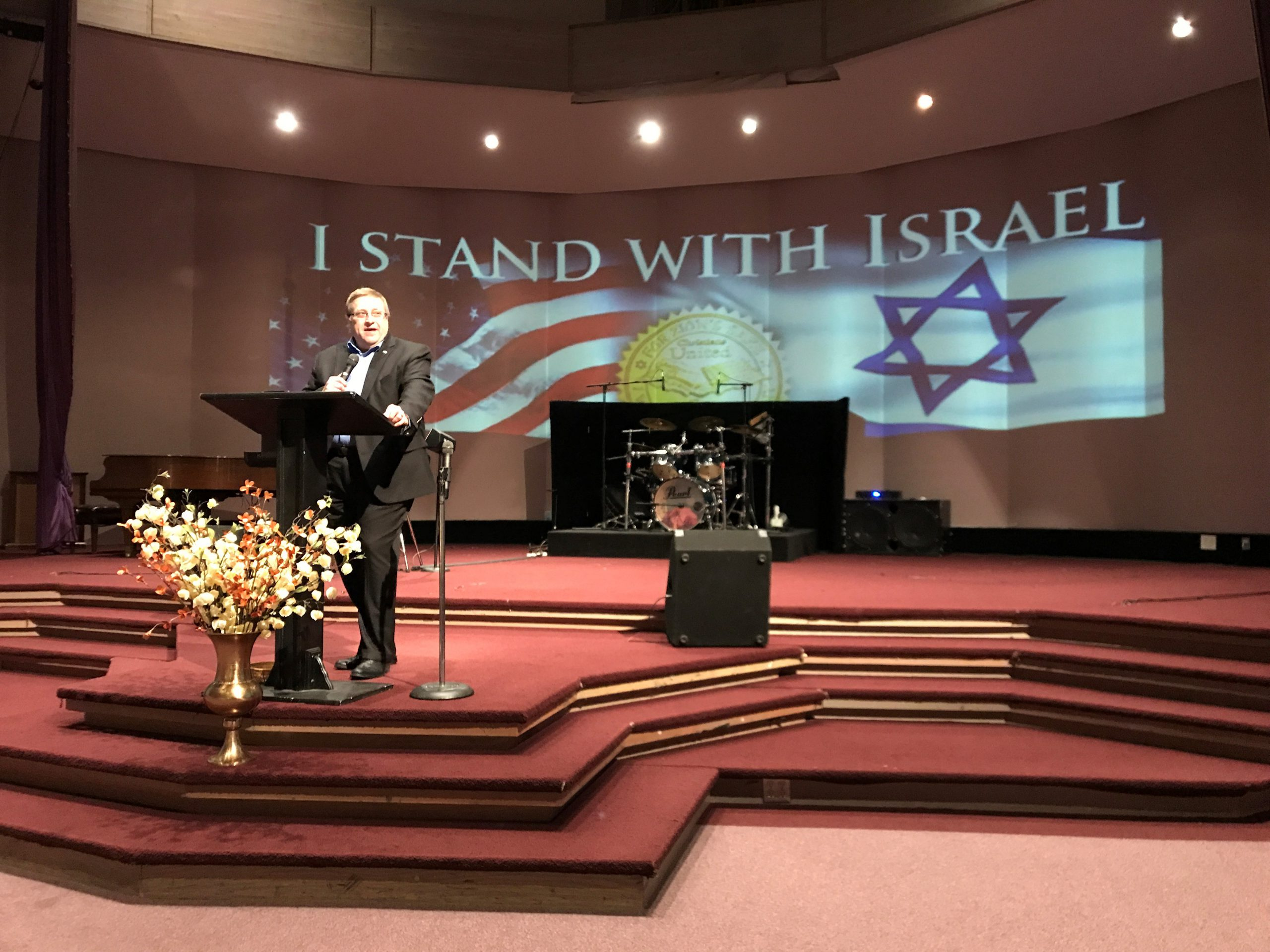 November 19 Anchorage, AK Stand With Israel