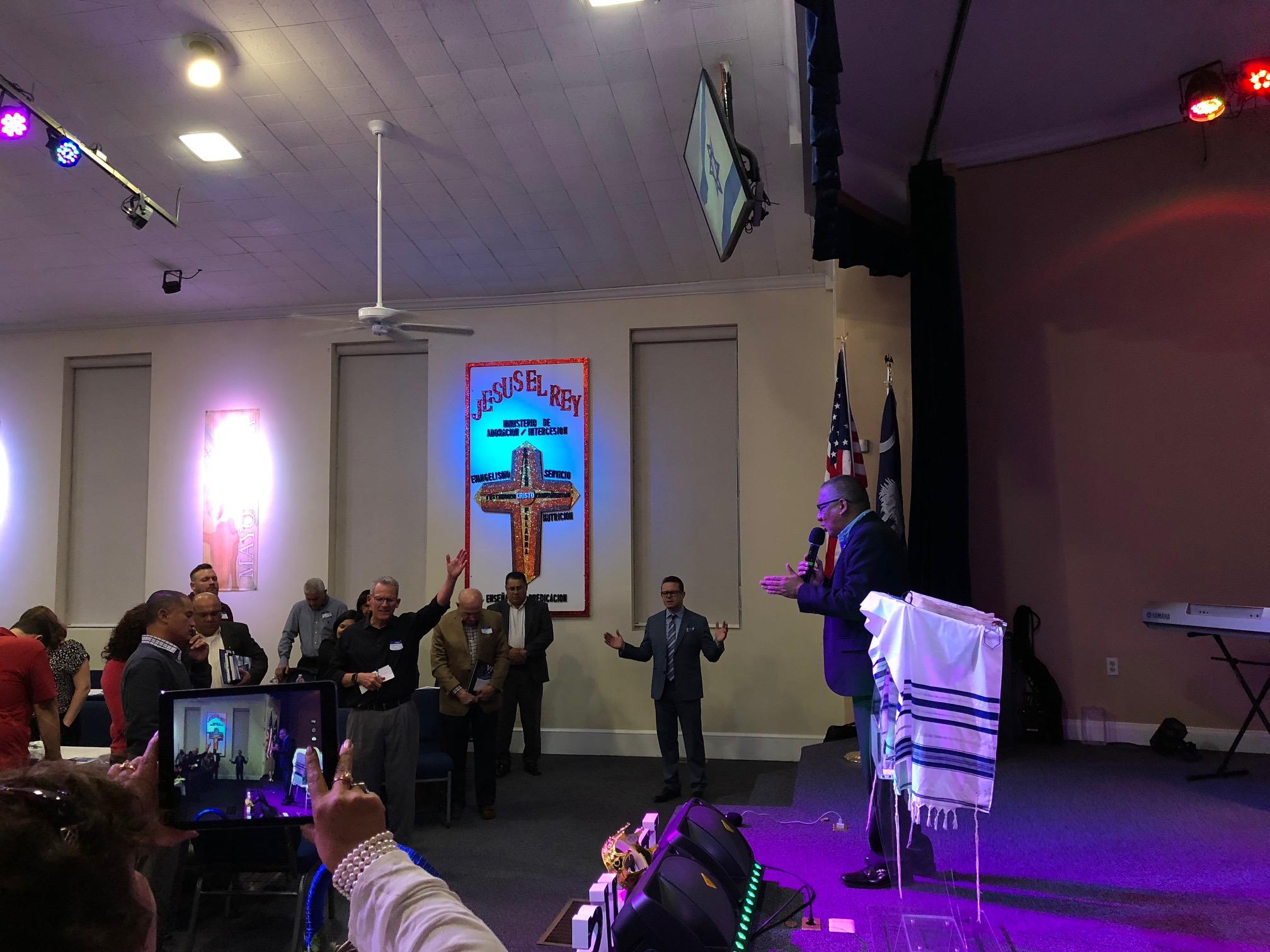 November 28 Greenville, SC Pastor's Meeting