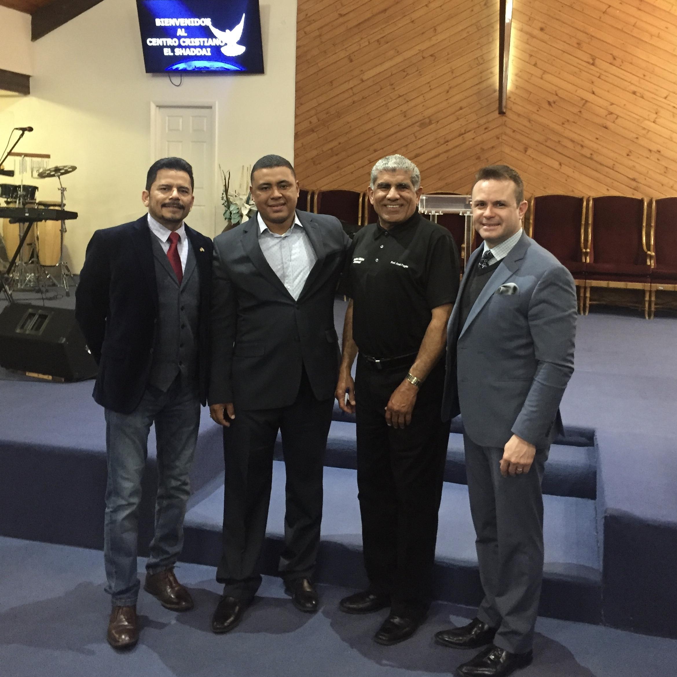 Feb 12 Las Vegas, NV Spanish Pastors Luncheon