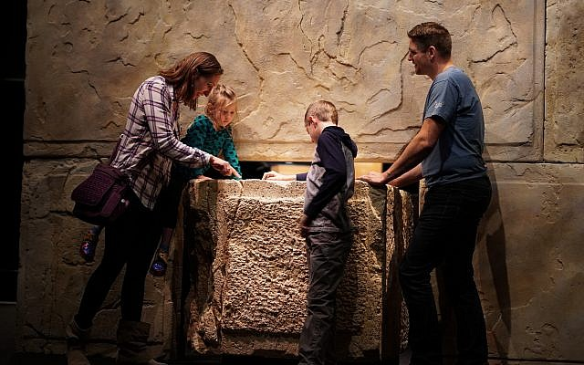 Part of the Dead Sea Scrolls Exhibition in the Denver Museum of Nature and Science