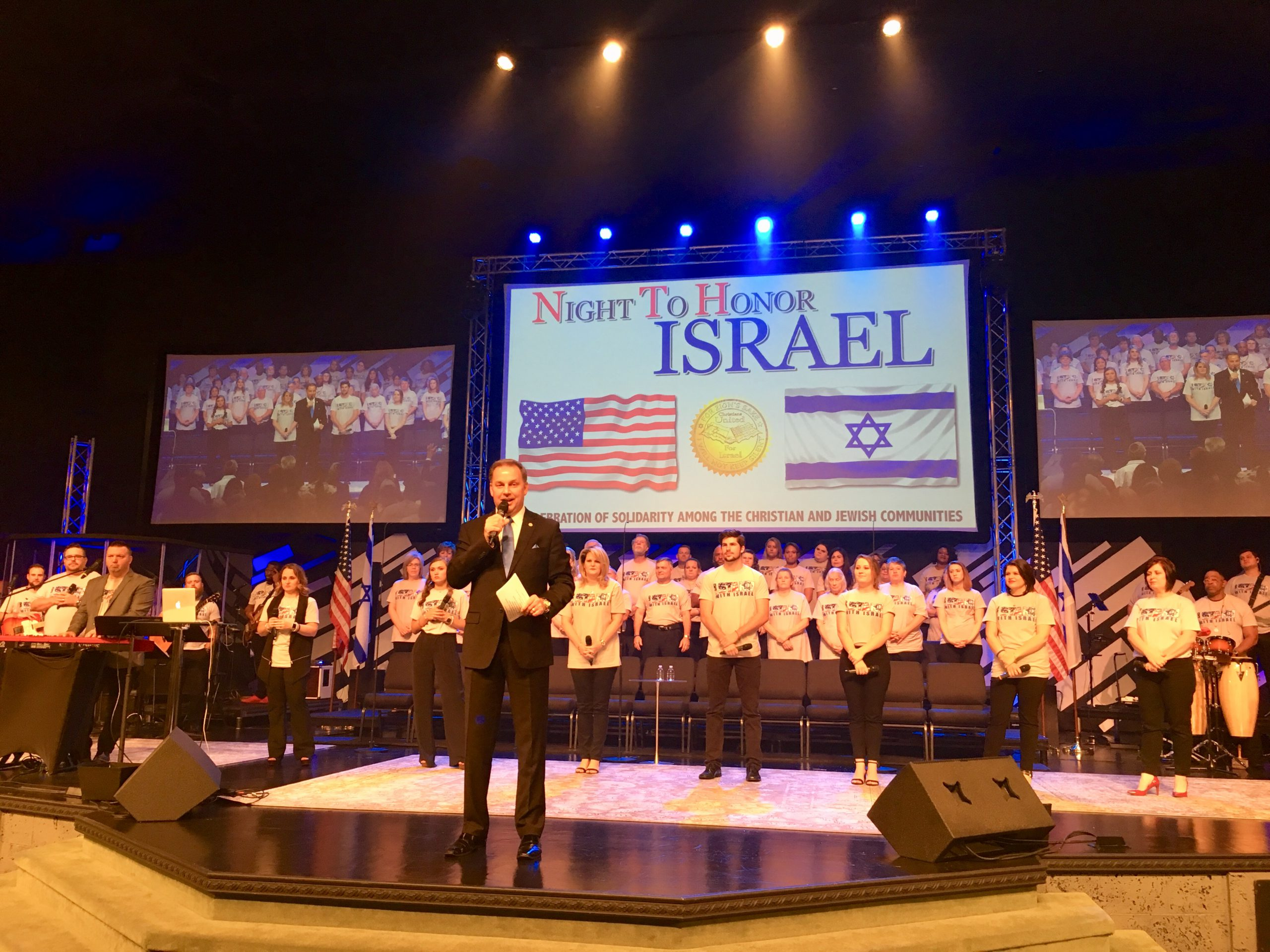 Mar 25 Pace, FL Night to Honor Israel