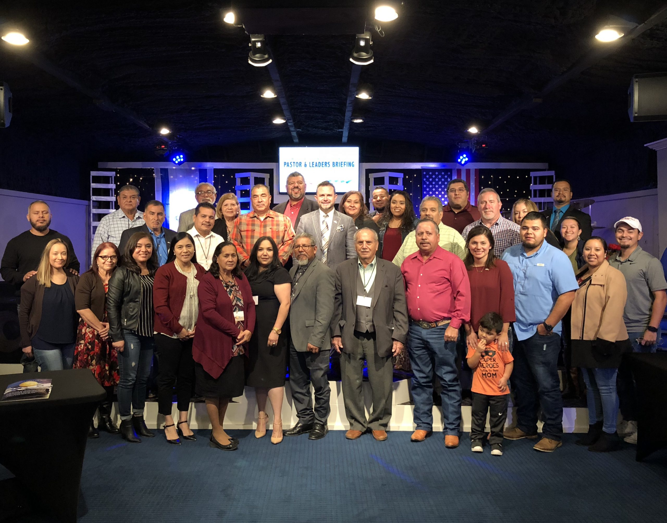 Oct 23rd Kyle, TX Bilingual Pastor's and Leader's Dinner Briefing