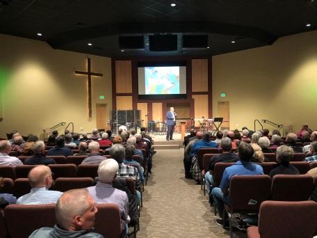Oct 10th Crossroads Community Church, Idaho Standing with Israel