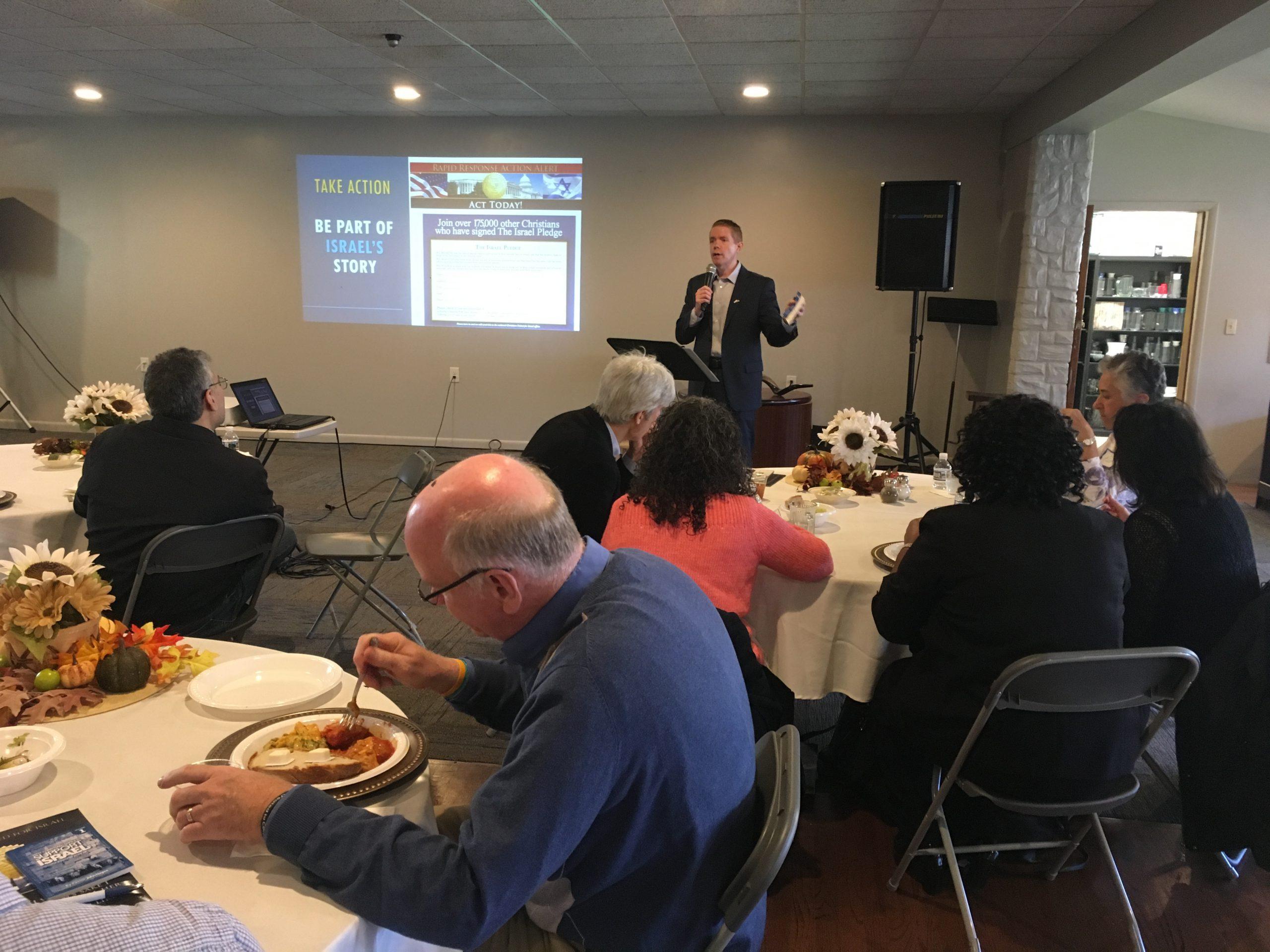 Nov 8 Oak Ridge, NJ Pastor's Luncheon