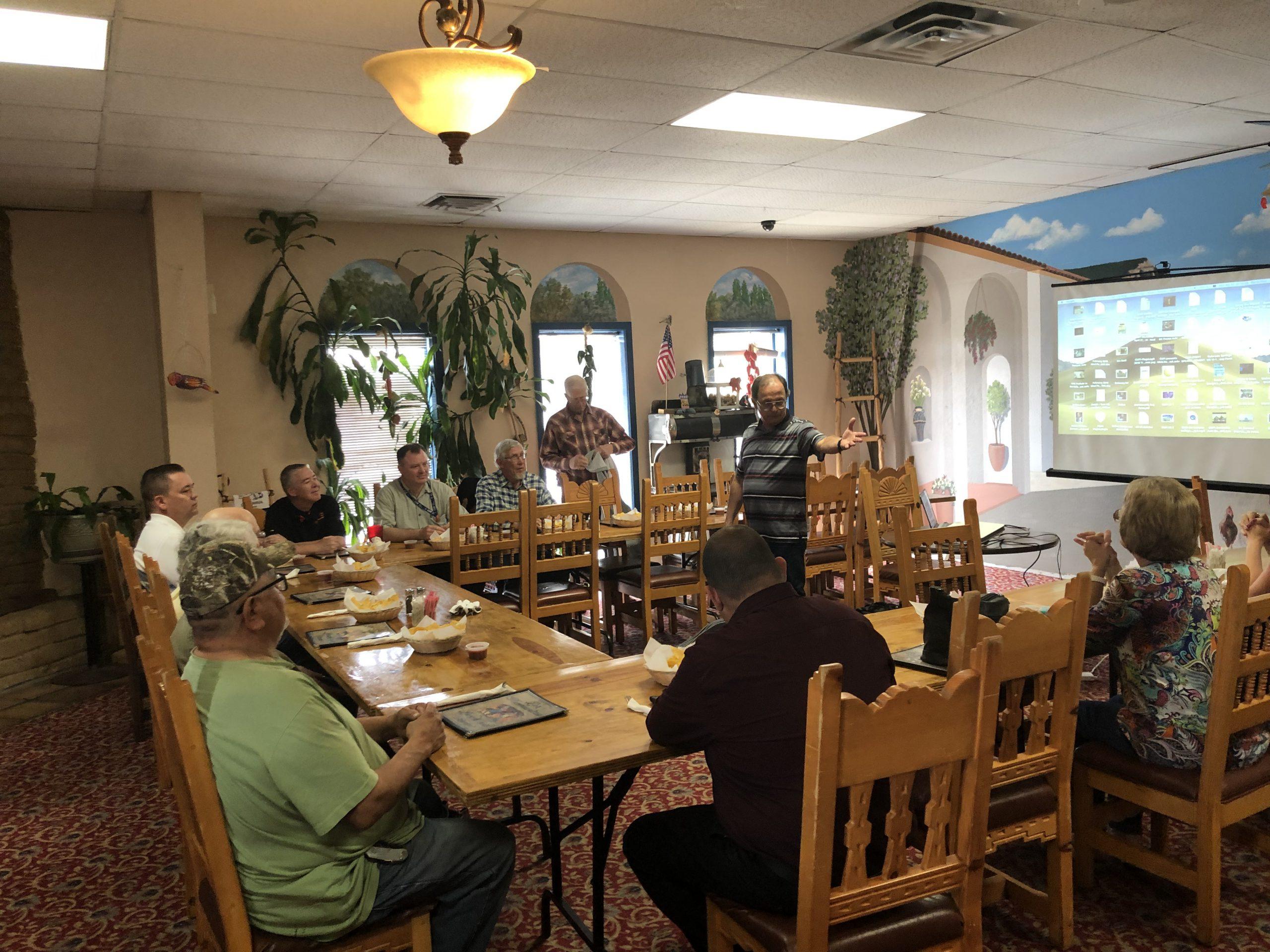April 22 - Farmington, NM - Pastor's Lunch