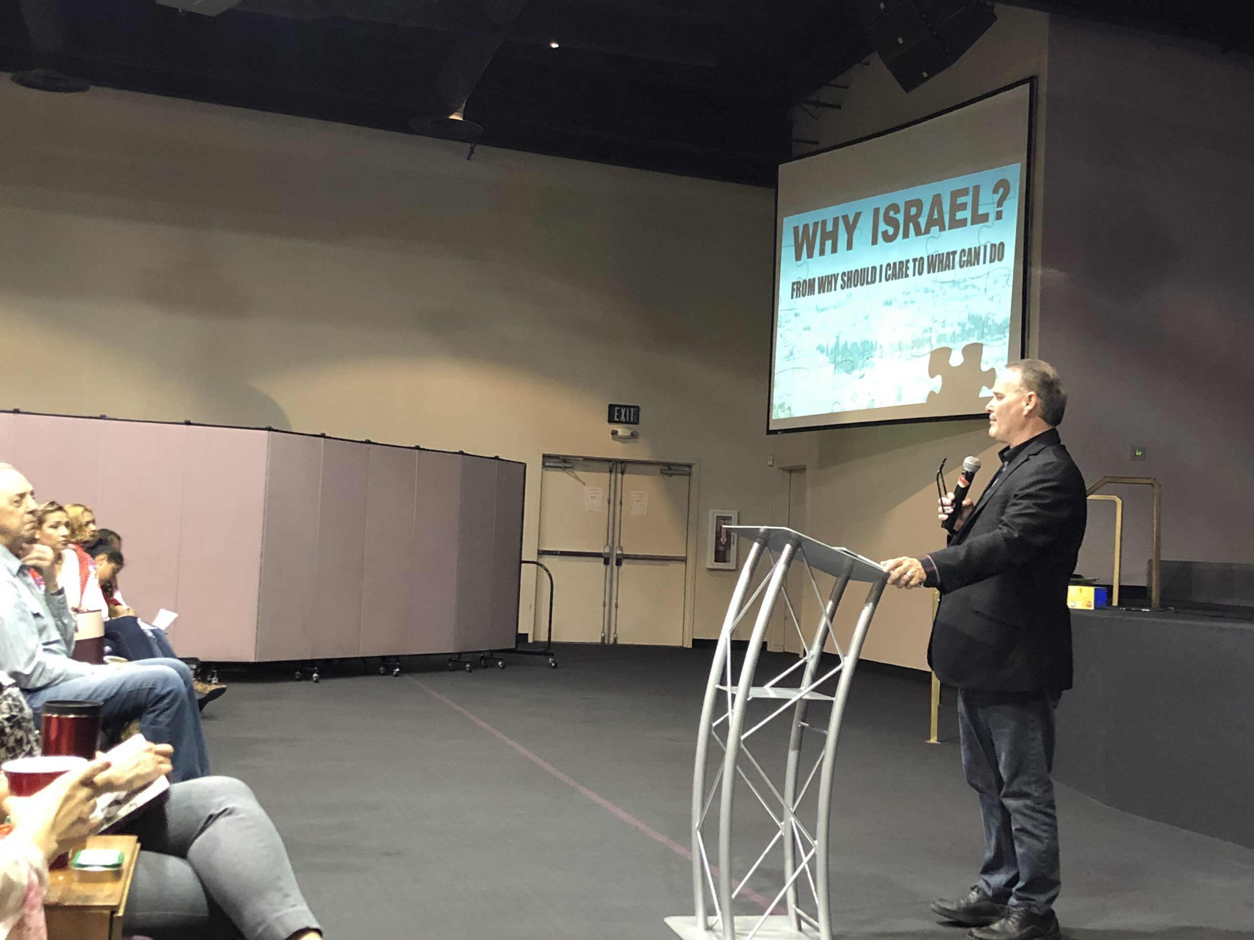 April 7 - Sanger, CA - Why Israel