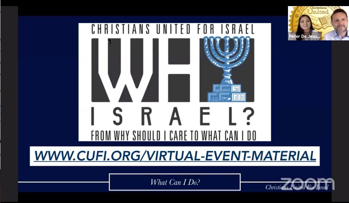 June 8 - Why Israel?