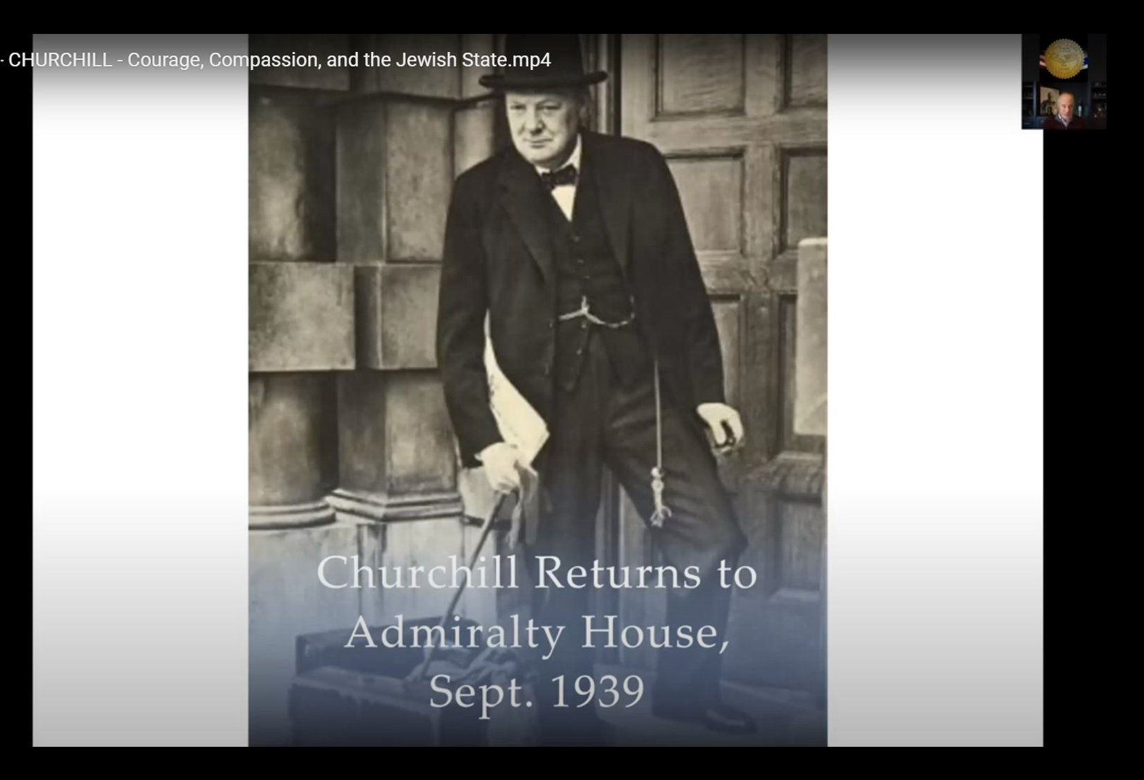 October 27 - Churchill and the Jews