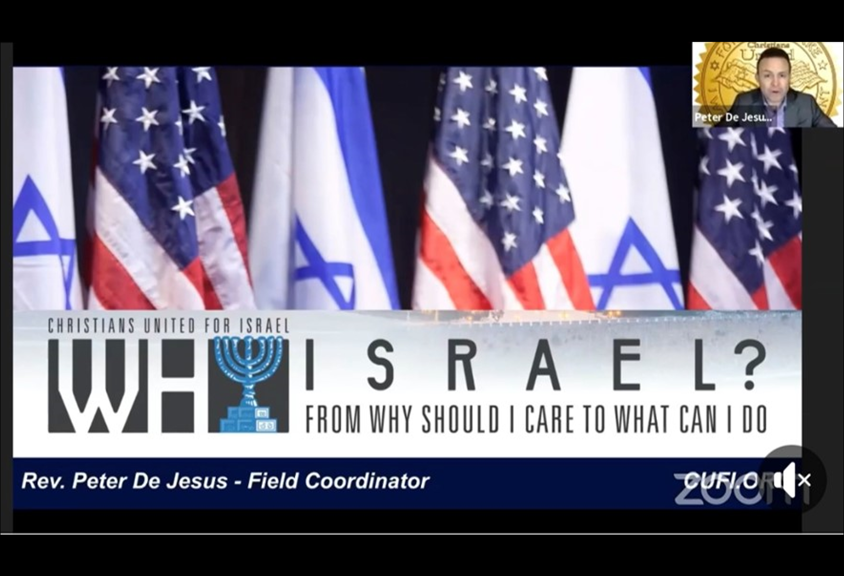 October 27 - Why Israel?