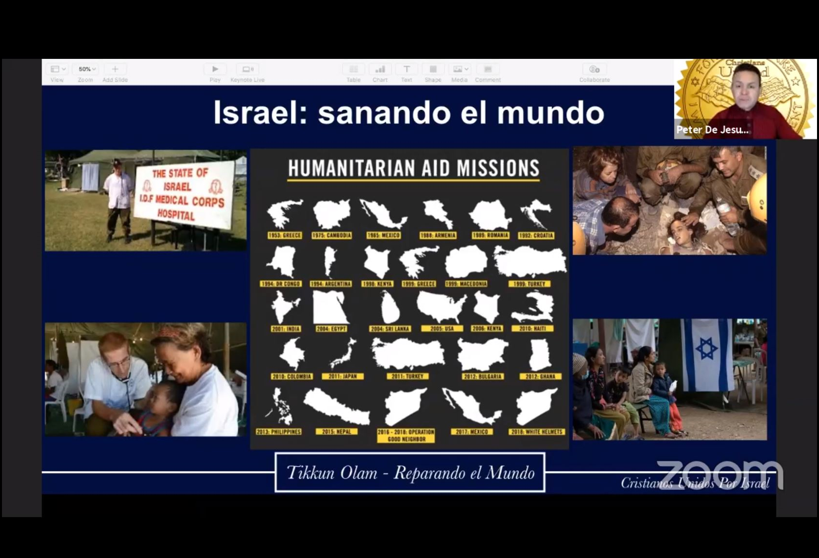 October 29 - Spanish Why Israel?