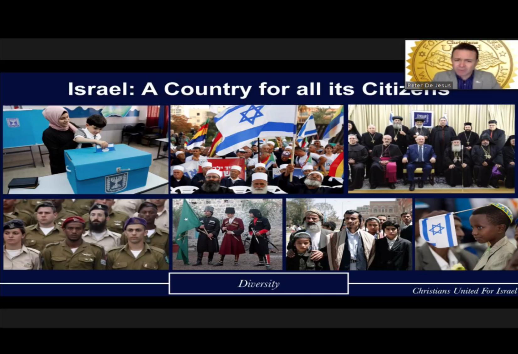 November 8 - Why Israel?