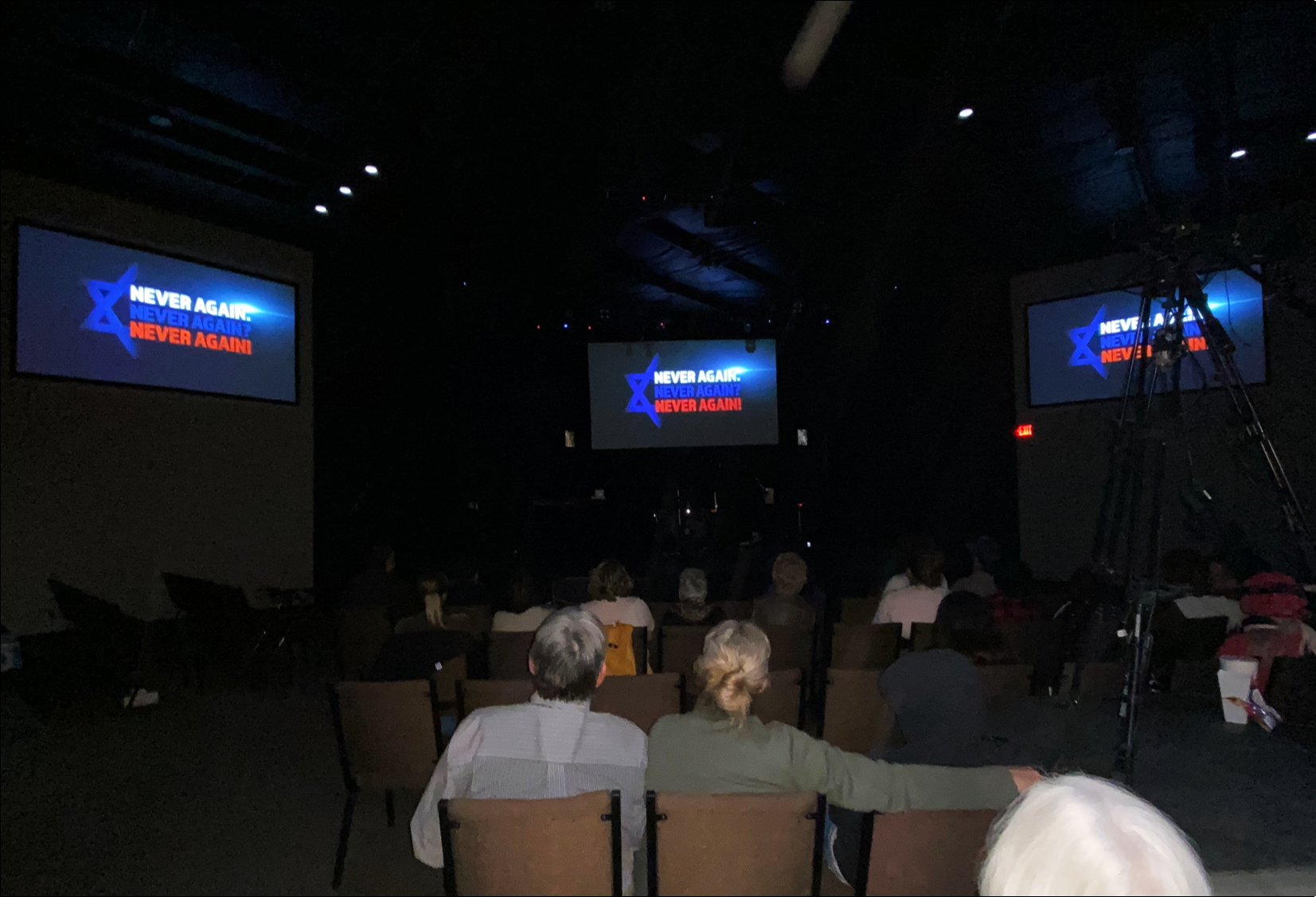 December 6 - Never Again Movie Screening