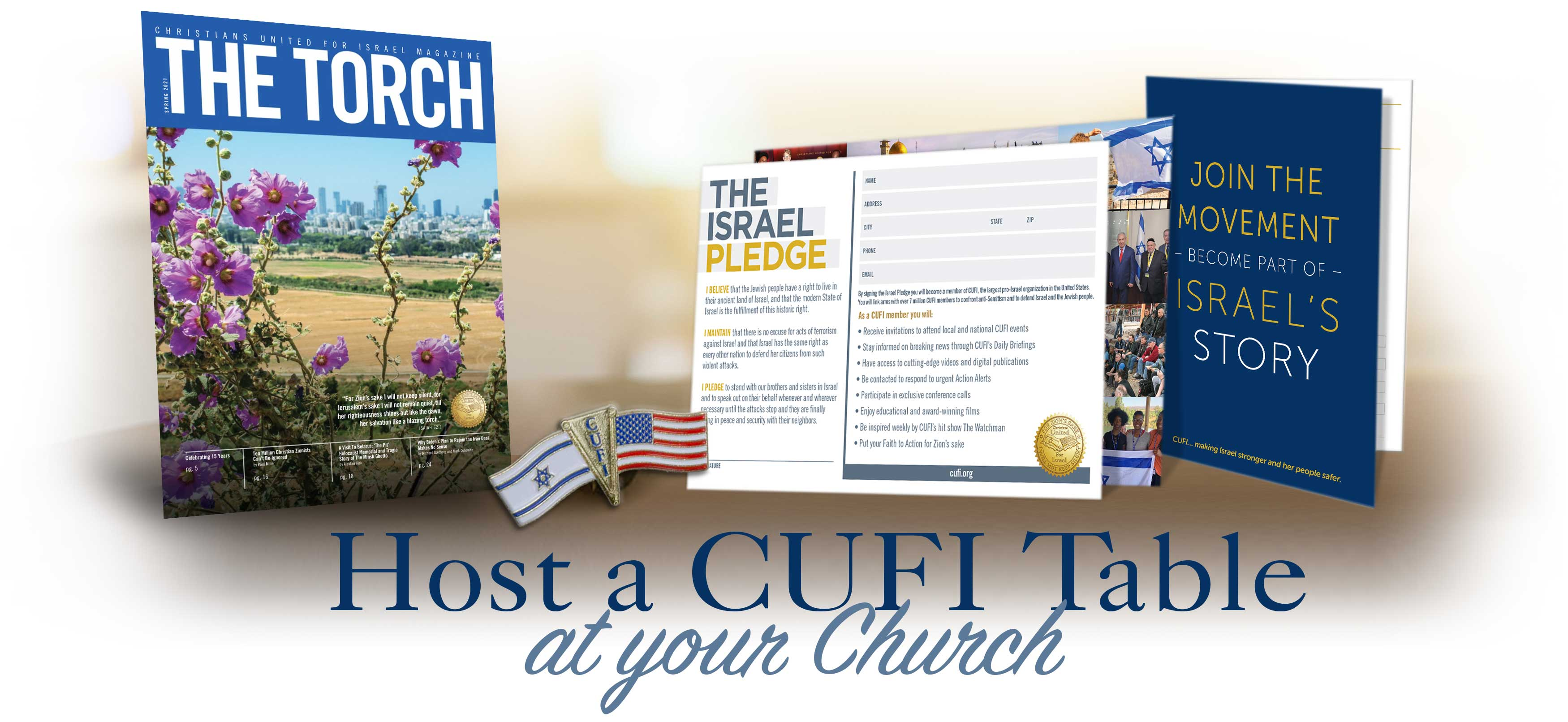 Host a CUFI Table at Your Church